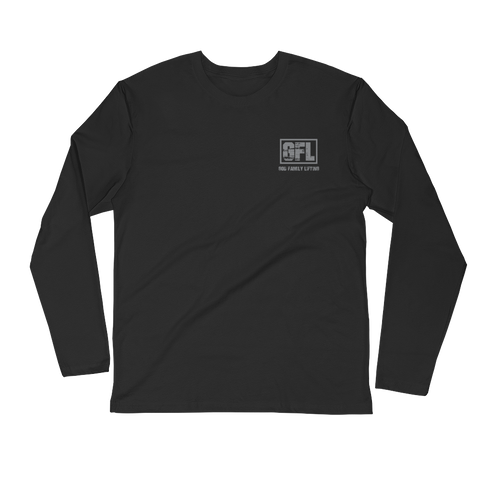 GFL Vintage Logo Long Sleeve Fitted Crew