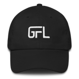GFL' S #TOOEAZY Dad hat - Black
