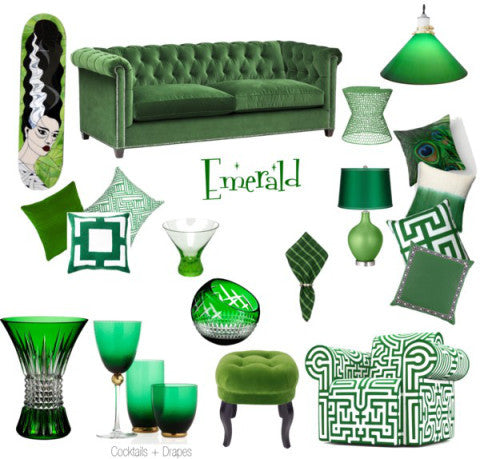 Color of the Month - Emerald