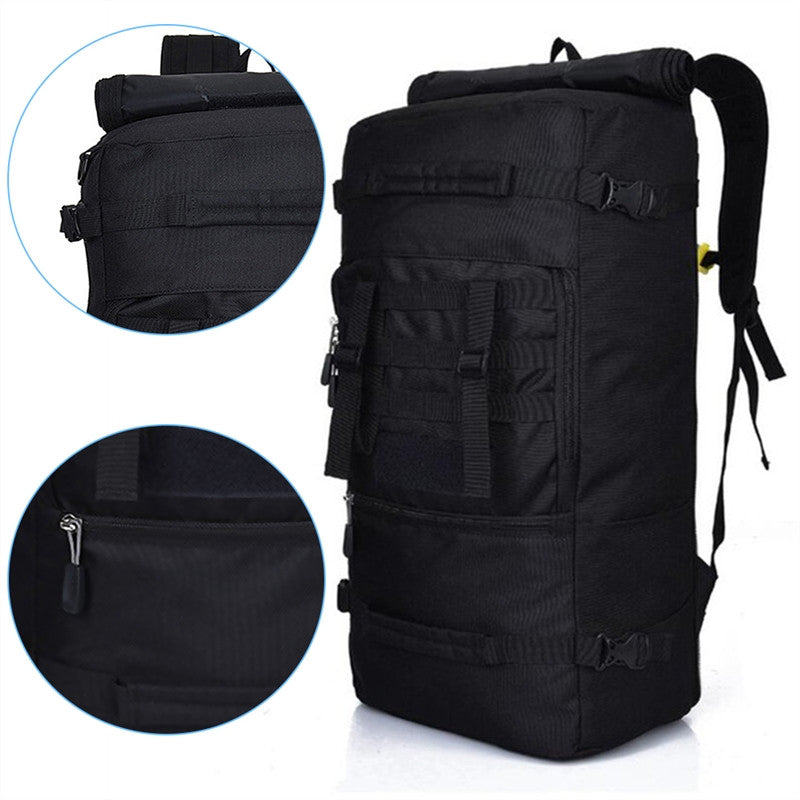 50L Outdoor Backpack with Shoulder Strap