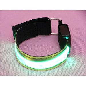 4 Piece LED Reflective Wristbands