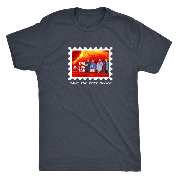 "THE MOTOR TOM | Save the USPS ""Lava Land"" Tee #USPSChallenge 