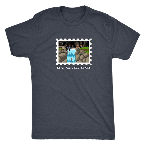 "Save the USPS ""Waterfall World"" Tee #USPSChallenge 