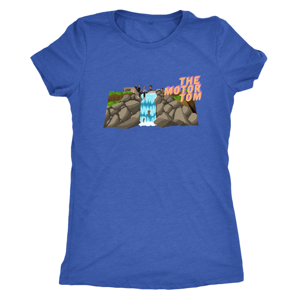 """Waterfall World"" Triblend Tee 