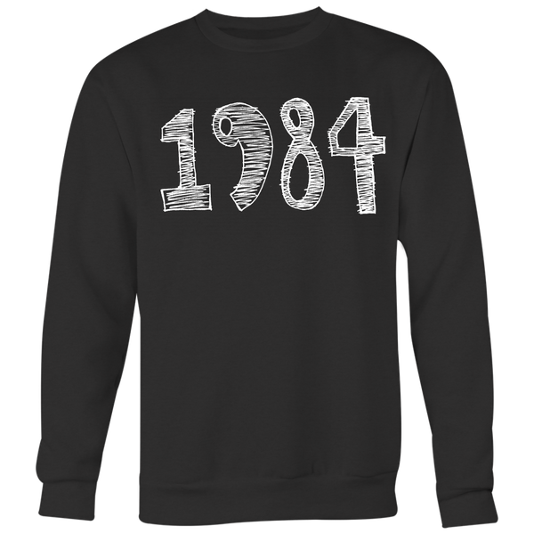 "CHEERRY RED | ""1984"" - Black 
