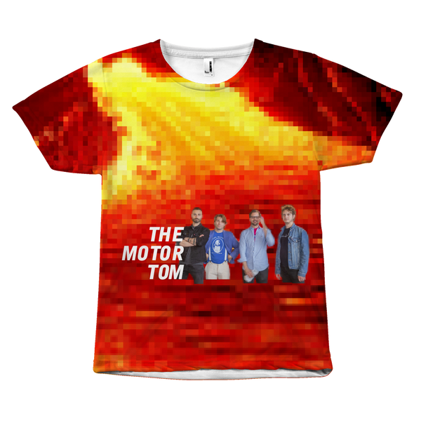 "THE MOTOR TOM | ""Lava Land"" All-Over Tee"