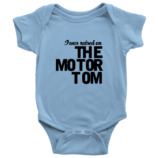THE MOTOR TOM | TMT Baby Onesie