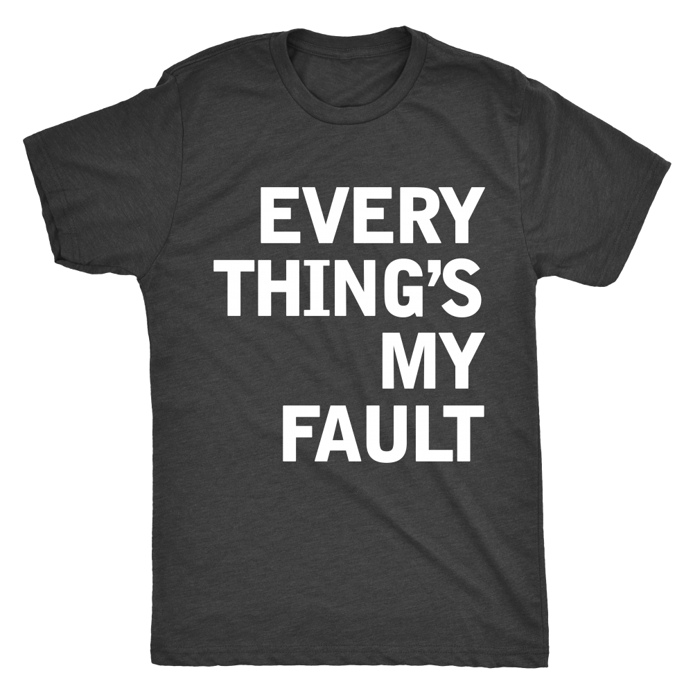"UNISEX - ""Searching (Every Thing's My Fault)"" Tee"