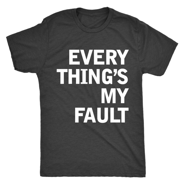 "THE MOTOR TOM | ""Searching (Every Thing's My Fault)"" Tee"
