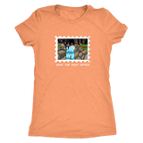 "THE MOTOR TOM | Save the USPS ""Waterfall World"" Tee #USPSChallenge 