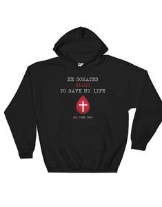Blood Donor Hooded Sweatshirt