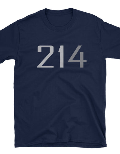 214 Thin Number Unisex T-Shirt