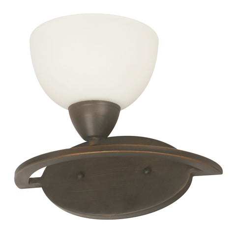 02950-9 1LT WALL BRACKET COFFEE BROWN FINISH