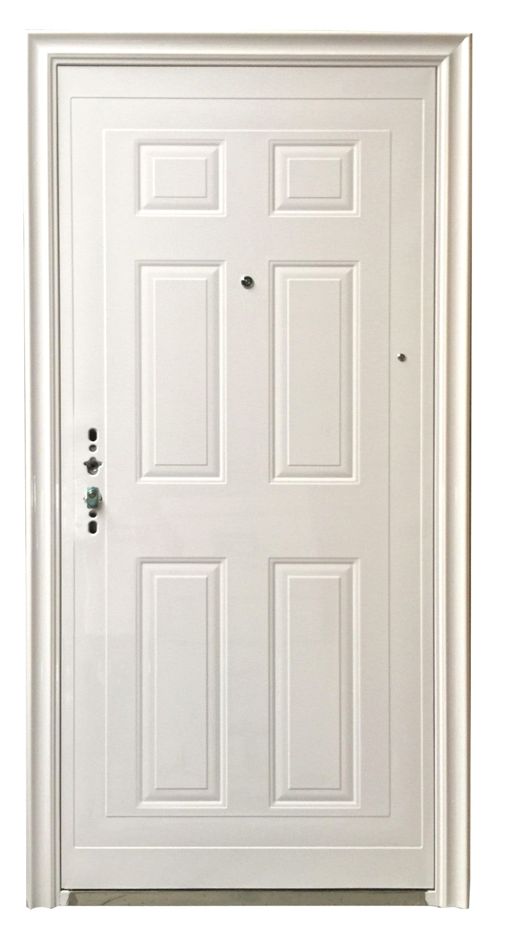 a29e022b6f9d8 DW-S011 Single Steel Security Door Color White – THE HOME EXPO