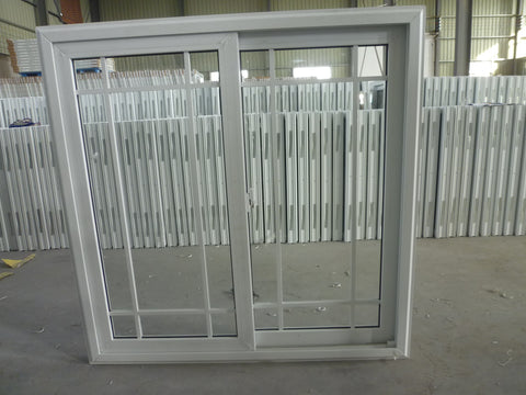 SLIDING UPVC WINDOW WITH GRIDS