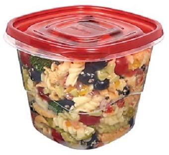 RUBBERMAID EASYFINDLIDS 7CUPS 2 EXTRA DEEP SQUARES