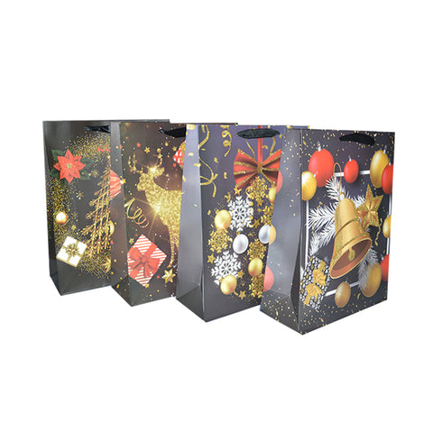 CHRISTMAS GIFT BAG 18x24x8.5CM