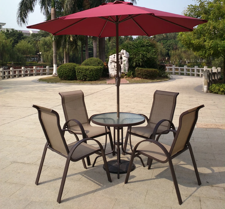 A2217 UMBRELLA DINING SET