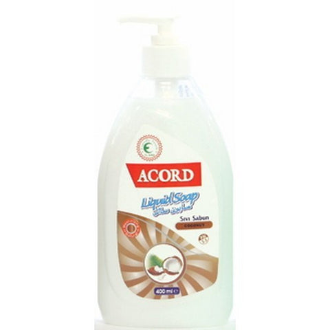 Acord 400ml Sivi Sabun Coconut Liquid Soap