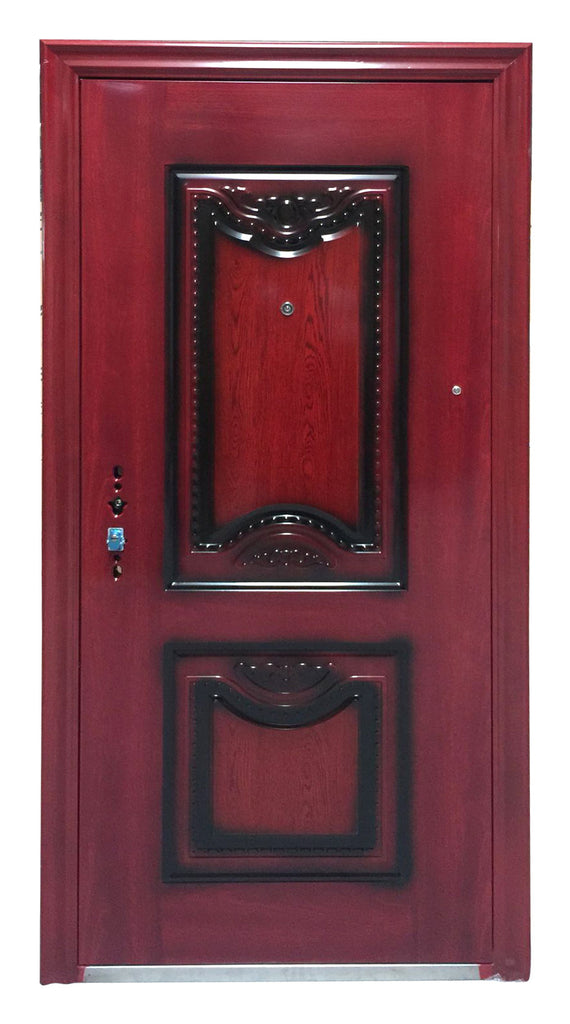DWS056 Steel Multi locking security door Color R