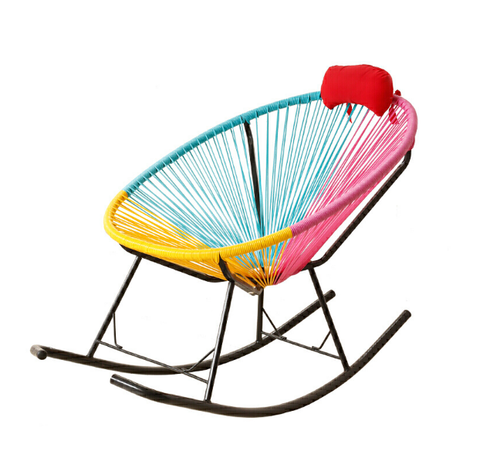 A8062 RAINBOW RATTAN LEISURE CHAIR