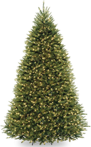 8FT LIGHTED CHRISTMAS TREE