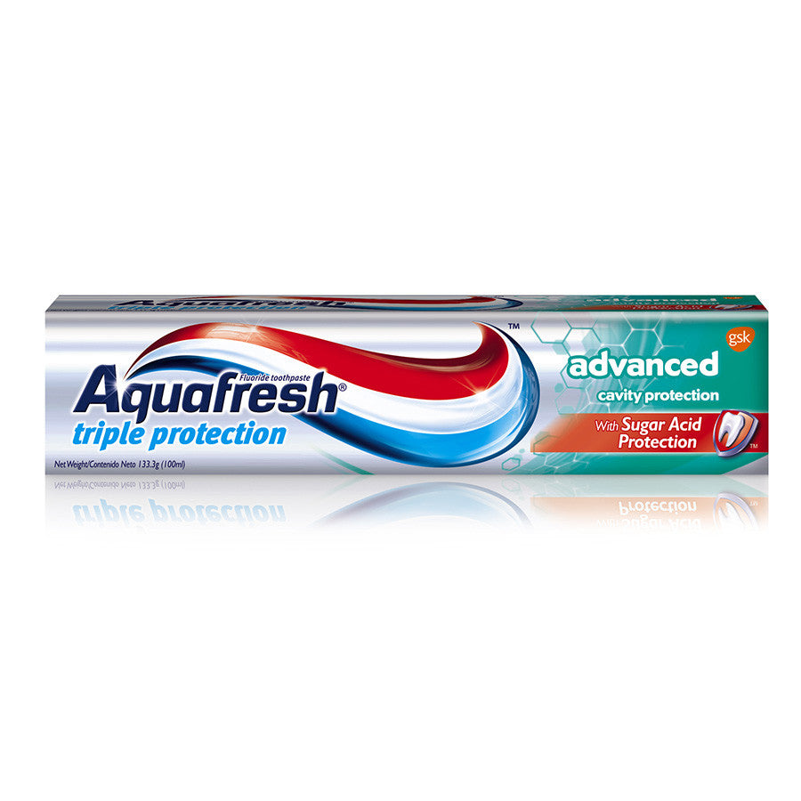AQUAFRESH TRIPLE PROTECTION ADVANCED CAVITY PROTECTION, 126G