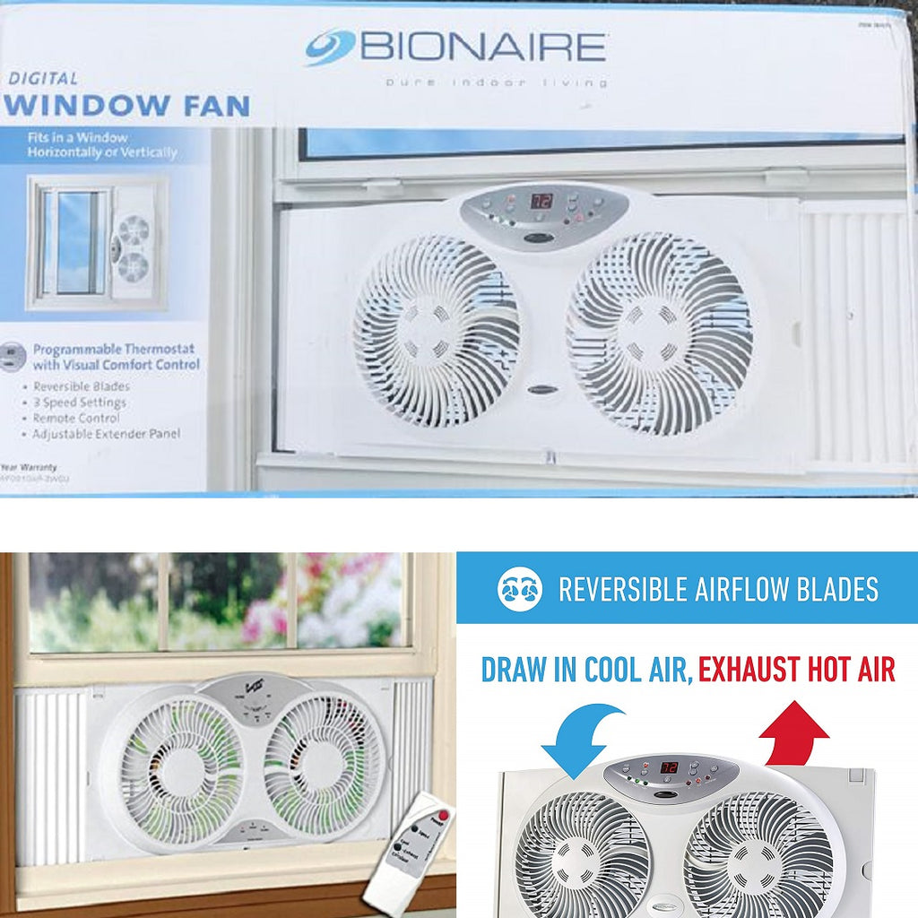 BIONAIRE DIGITAL WINDOW FAN