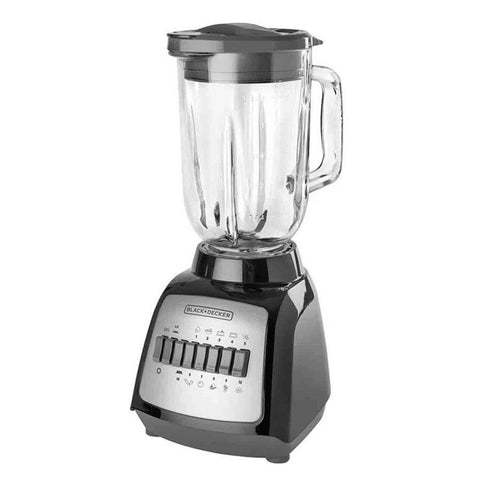 BLACK & DECKER BLENDER 10 SPEED GLASS JAR 550W
