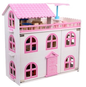 LARGE 2 STORY DREAM DOLL HOUSE