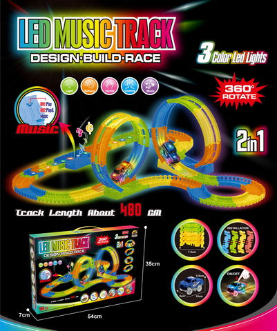 LED MUSIC RACE TRACK