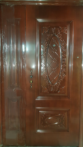 DESIGN 1 DOOR & HALF STEEL SECURITY COLR 1