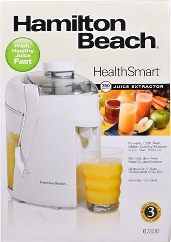 350W HAMILTON BEACH JUICE EXTRACTOR
