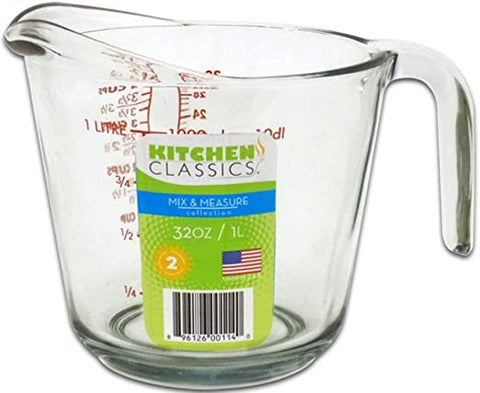 KITCHEN CLASSICS 32OZ MEASURING CUP