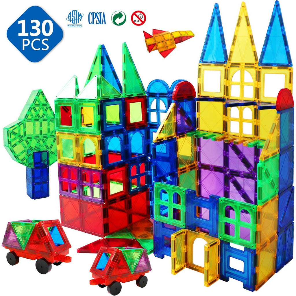 Magnet Building Tiles 3D Toys Magnets Magnetic Blocks Set