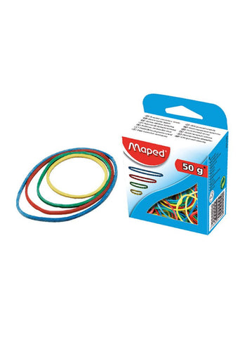 MAPED 50g RUBBER BANDS