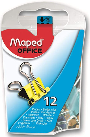 MAPED BINDER CLIPS