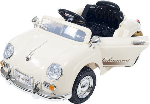 Ride On Toy Car, Battery Operated Classic Sports Car With Remote Control and Effects