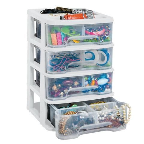 RIMAX DRAWER ORGANIZER 4G WHITE (11735)