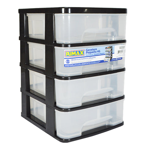 RIMAX DRAWER ORGANIZER 4G BLACK (11736)