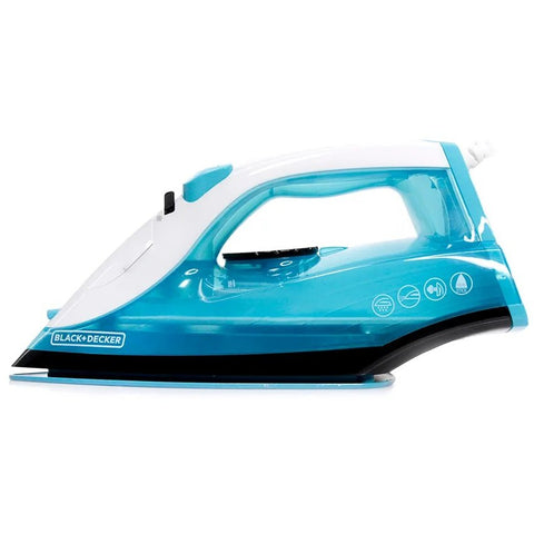 BLACK & DECKER TRUEGLIDE COLORS STEAM BURST IRON