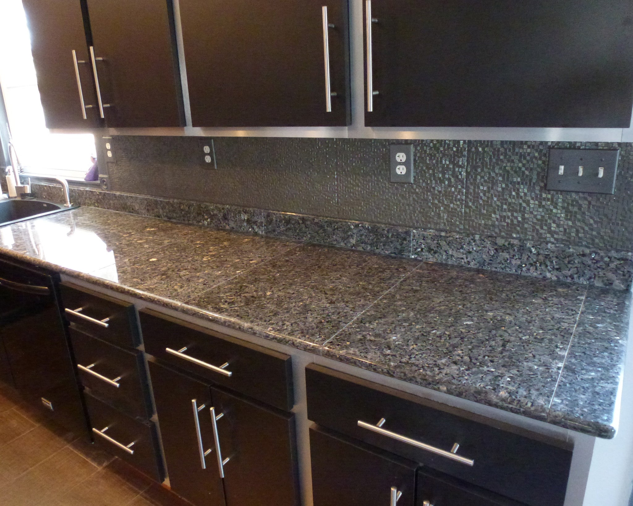 Blue pearl prefab granite countertop cearance item