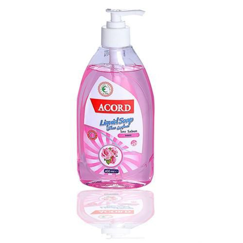 Acord 400ml Sivi Sabun Rose Liquid Soap