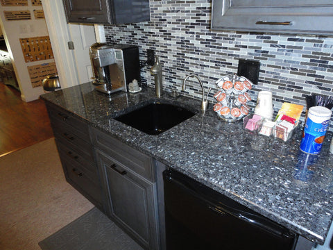 Blue Pearl Prefab Granite Countertop, CEARANCE ITEM