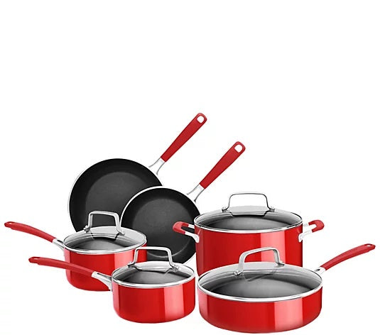 KITCHENAID 10PC POT SET