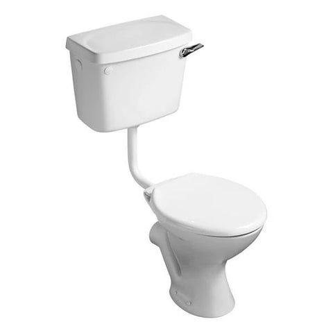 ANCHOR VITREOUS ARISTAR WHITE LOW-LEVEL TOILET