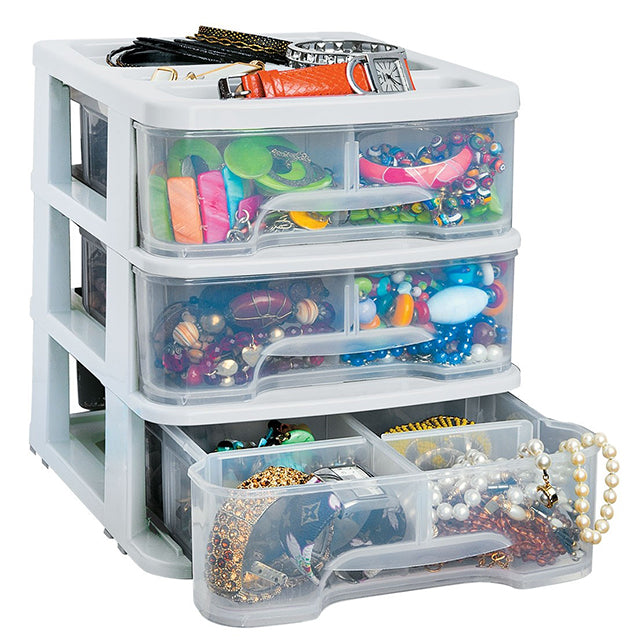 RIMAX DRAWER ORGANIZER 3G WHITE (7116)