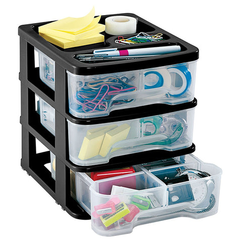 RIMAX DRAWER ORGANIZER 3G BLACK (11733)