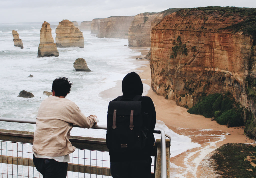 We drove to the 12 Apostles and got a penthouse
