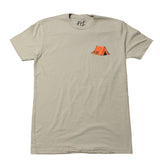 The Orange Tent Tee (Gray)
